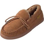 Pindari Men\'s Faux Suede Moccasin Slippers