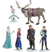Disney Frozen 6 Pcs Dolls Desktop Playsets Toys Princess Anna & Elsa, Kristoff, Sven, Hans, Olaf