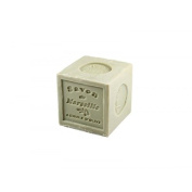 Natural Vegetable Marseille Verte Olive Oil Soap Cube 300g, French Traditional Receipt