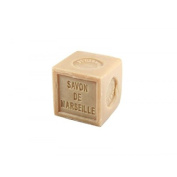 Natural Vegetable Marseille Palm Oil Beige Soap Cube 300g, French Traditional Receipt