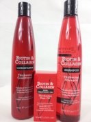 Biotin & Collagen Hair Care Set Contains Thickening Shampoo, Conditioner & Hair Oil