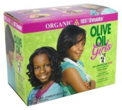 Organic Root Olive Oil Girls Relaxer Kit