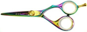 Koi Rainbow Titanium 13cm Professional Hairdressing Scissors
