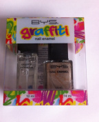 Bys Graffiti Duo Nail Enamel Gift Set - Grab The Loot