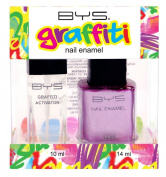 Bys Graffiti Duo Nail Enamel Gift Set - Stick It To The Man