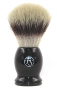 Frank Shaving Pur-Tech Synthetic Hair Shaving Brush -Quality Shaving Brush Black Handle Knot Size 21Mm Comes With Free Stand
