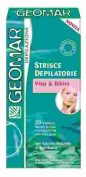 GEOMAR Wax Strips for Face & Bikini Zone 20pcs.