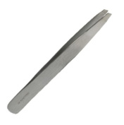 Eye Brow Tweezers - Epilating forceps - Slanted Tip - Stainless Steel