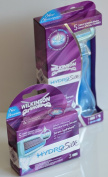 Wilkinson Sword Hydro Silk Razor / 3 Blade Set