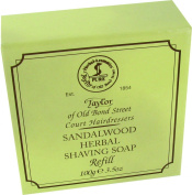 Taylors Of Old Bond Street Sandalwood Hard Shaving Soap Refill 57g