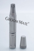 GroomMate Groom Mate Platinum XL Professional With Clamshell & Cleaning Brush Nose & Ear Hair Trimmer