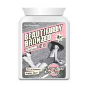 HOURGLASS GODDESS BEAUTIFULLY BRONZED TAN TABLET SUNLESS TANNING BIKINI BODY