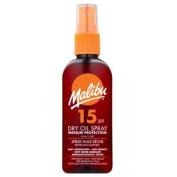 Malibu Dry Oil Spray with SPF15 100 ml