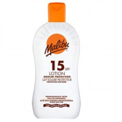 Malibu Protective Sun Lotion with SPF15 400 ml