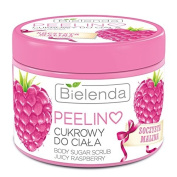 Fruity Raspberry Body Scrub 200ml by Bielenda /Strengthening, Nourishing & Moisturising -Anti-Ageing - Improves the Appearance & Condition of the Skin - Unique Softness & Smoothness