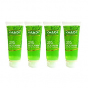 Vaadi Herbals Value Pack Of Anti-Acne Neem Face Wash With Tea Tree Extract