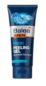 Balea Men Fresh - Exfoliating Peeling Gel - With Hyaluronic Acid - Not Tested on Animals -100ml