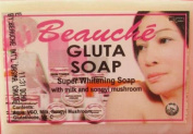 3 Pack BEAUCHE Beauty Bar/Gluta Whitening Soap 1 Bars 90 Gms Each