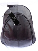 Italian Soft Leather Ladies Womens Backpack Rucksack Handbag Quenchy QL948