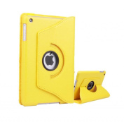 High Grade Premium 360 Degree rotation Yellow Horizontal & Vertical View Leather Cover For Apple iPad Mini by G4GADGET®