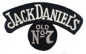 Jack Daniel's old No 7 top quality embroidered iron on patch