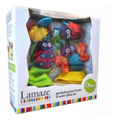 Official Lamaze® Gardenbug Foot Finder & Wrist Rattle Set In Box