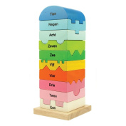 Bigjigs Toys BB035 Number Tower