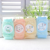 Liroyal Infant Toddler Baby Knee Pad Crawling Safety Protector Green