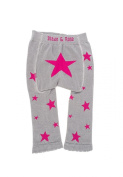 Baby Leggings/footless tights from Blade and Rose - Pink star - 6-12 mths