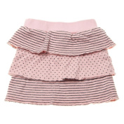 PAIGELAUREN Classic Ruffled Skirt in Sky, 3T