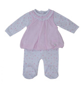 Girls 2 pcs Baby Grow/sleepsuit