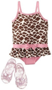 Wippette Baby-Girls Infant Giraffe with Jellys, Pink, 18 Months Colour