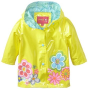Wippette Baby-Girls Infant Floral Shiny,Yellow, 12 Months Colour