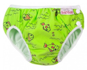 ImseVimse Swimming Nappy Green Fish Size SL (Super Large) 13-17 kg