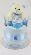 Baby Boy Single One Tier Nappy Cake Baby Shower New Baby Gift