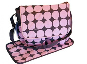 Baby Kingdom Polka Dots Nappy Nappy Changing Bags Set