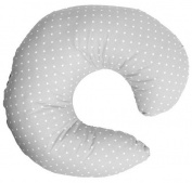 Farg Form Breastfeeding Pillow Prickig Grey