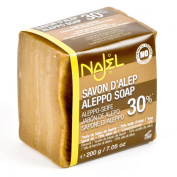 Traditional Aleppo Soap Laurel 30% - 200g [Najel]
