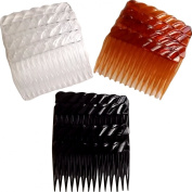 Shropshire Supplies Pack of 12 Hair Combs Side Combs Approx 7cm Wide