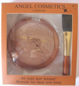 angel cosmetics bronzer with brush