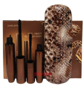 Love atti Python Snake Skin Mascara Lengthen and Thicken Your Lashes Snakeskin box