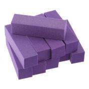 Ukamshop Fashion 10PCS Buffing Sanding Buffer Block Files Acrylic Pedicure Manicure Nail Art Tips