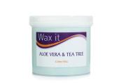 Wax It 450g Aloe Vera and Tea Tree Cream Wax