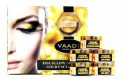 Gold Facial Kit - 24 Carat Gold Leaves, Marigold & Wheatgerm Oil, Lemon Peel Extract 270gm