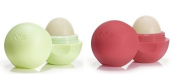 EOS Organic Lip Balm - 2 Pack - Summer Fruit & Honeysuckle Honeydew