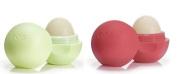 EOS Organic Lip Balm - 2 Pack - Summer Fruit & Honeysuckle Honeydew