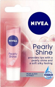 Nivea Lip Balm Care Pearly Shine 4.8g | Pearl & Shine Silk Extract x 3 Packs
