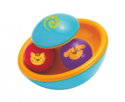 Manhattan Toy Wobble We Go Rattle