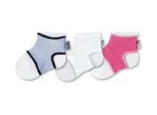 3 sock ons baby sock keepers