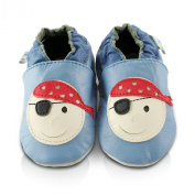 Snuggle Feet Pirate Soft Leather Baby Shoes
